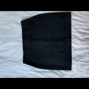 H&M detailed black skirt